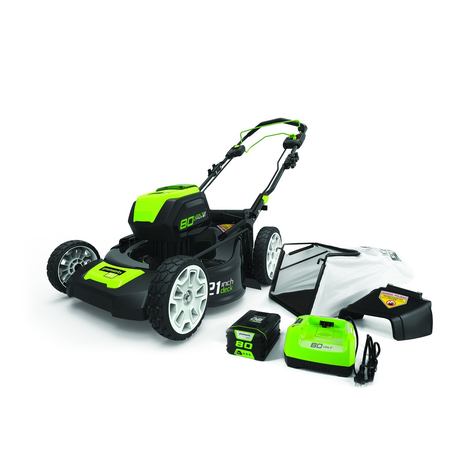 Greenworks Self Propelled Lawn Mower