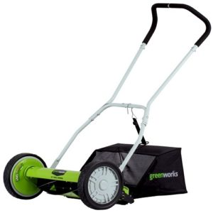 Greenworks Reel mower